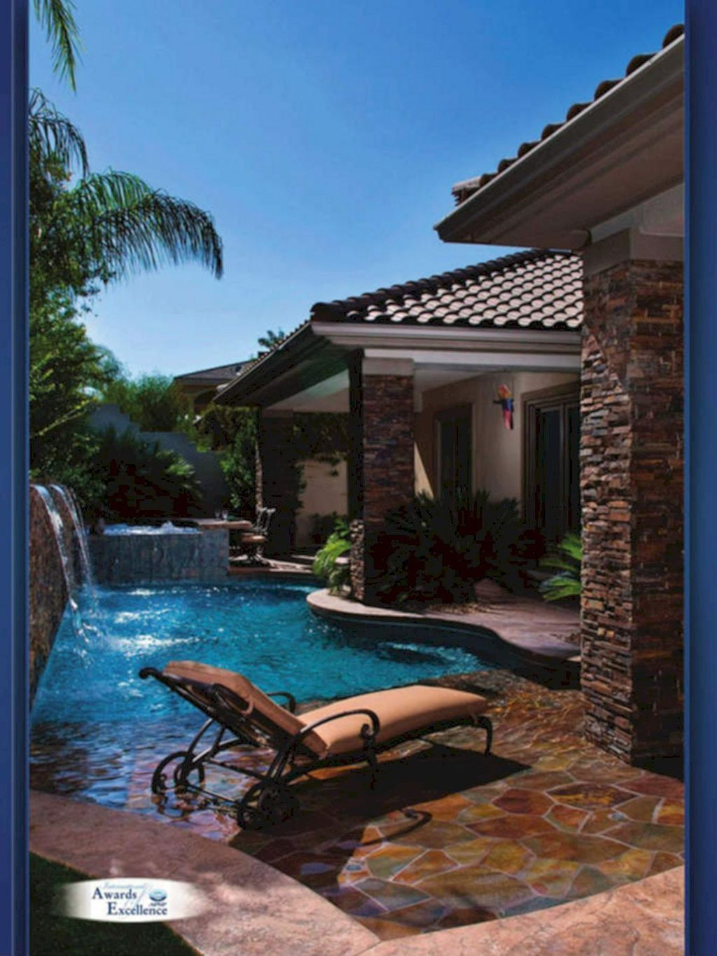 Flawless Small Pool Landscaping Design Ideas For Enchanting Home Outside 18