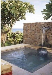 Flawless Small Pool Landscaping Design Ideas For Enchanting Home Outside 31