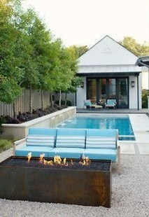 Flawless Small Pool Landscaping Design Ideas For Enchanting Home Outside 33