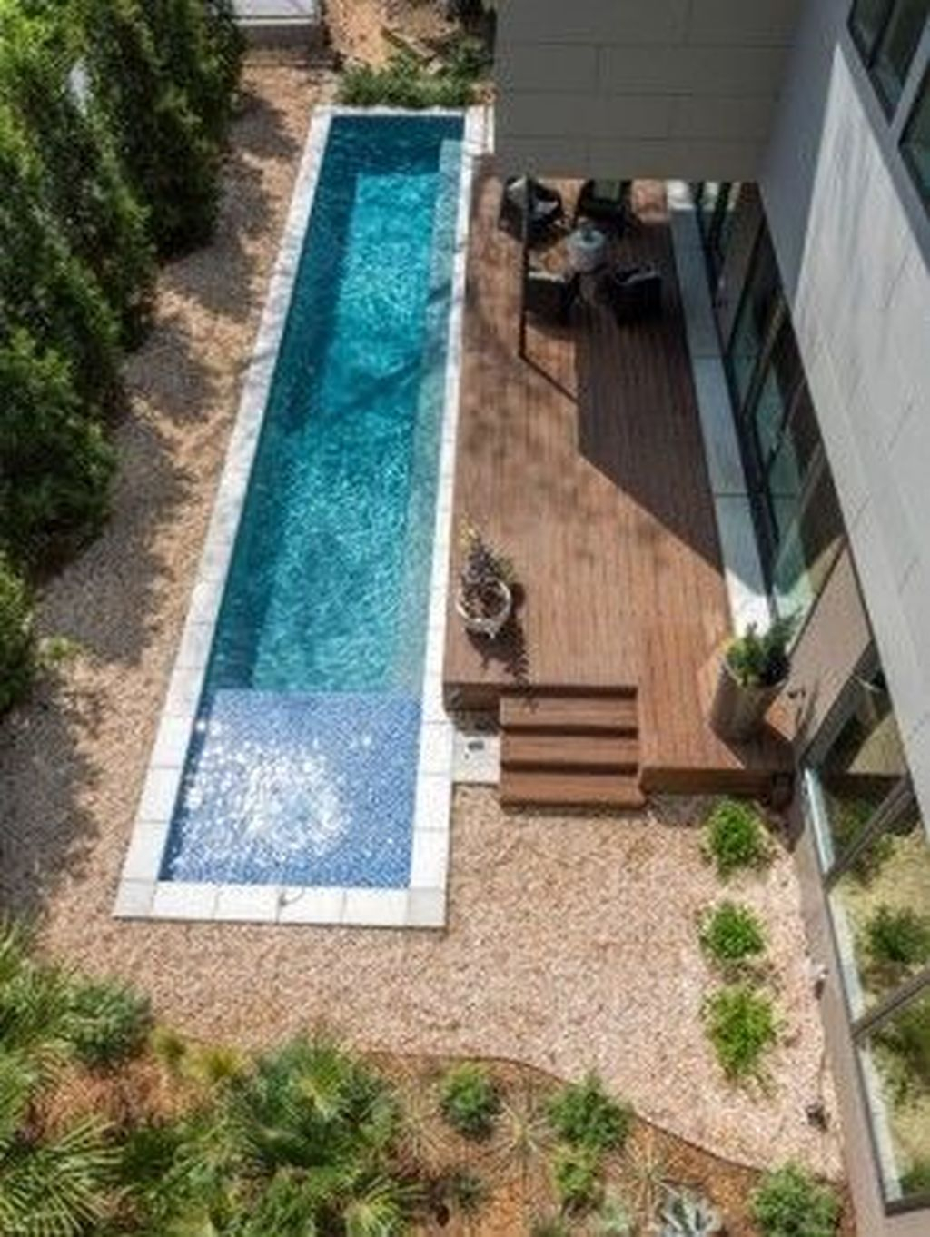 Flawless Small Pool Landscaping Design Ideas For Enchanting Home Outside 35