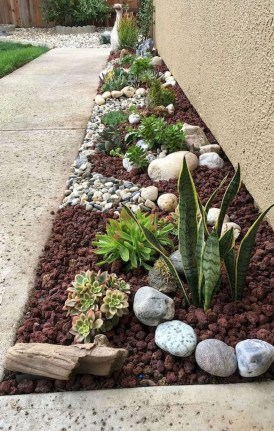 Inspiring Rock Garden Ideas To Make Your Landscaping More Awesome 08