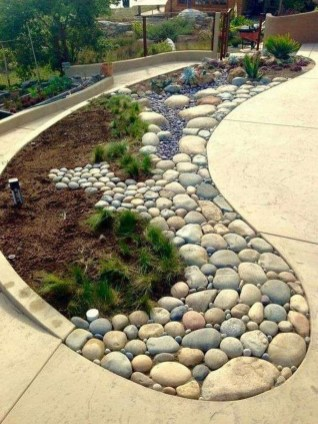 Inspiring Rock Garden Ideas To Make Your Landscaping More Awesome 13