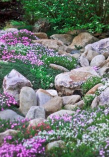 Inspiring Rock Garden Ideas To Make Your Landscaping More Awesome 32