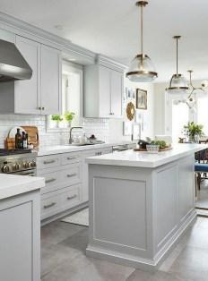 Luxury Grey Kitchen Backsplash Design Ideas For Your Inspiration 13