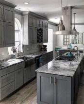 Luxury Grey Kitchen Backsplash Design Ideas For Your Inspiration 27