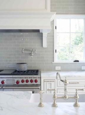 Luxury Grey Kitchen Backsplash Design Ideas For Your Inspiration 31