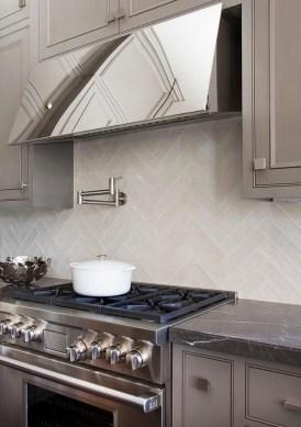 Luxury Grey Kitchen Backsplash Design Ideas For Your Inspiration 33
