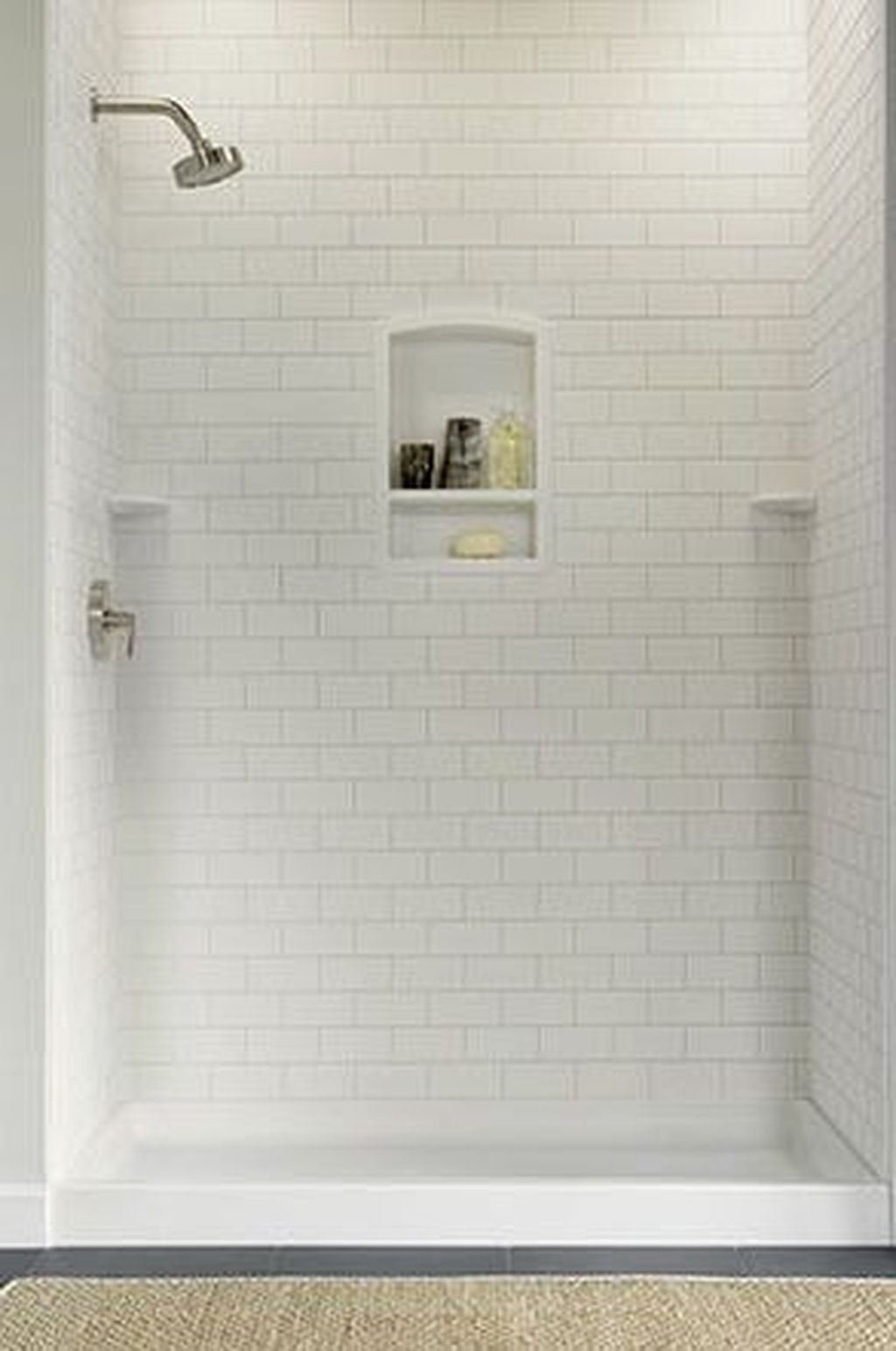 Marvelous Wooden Shower Floor Tiles Designs Ideas For Bathroom Remodel 01