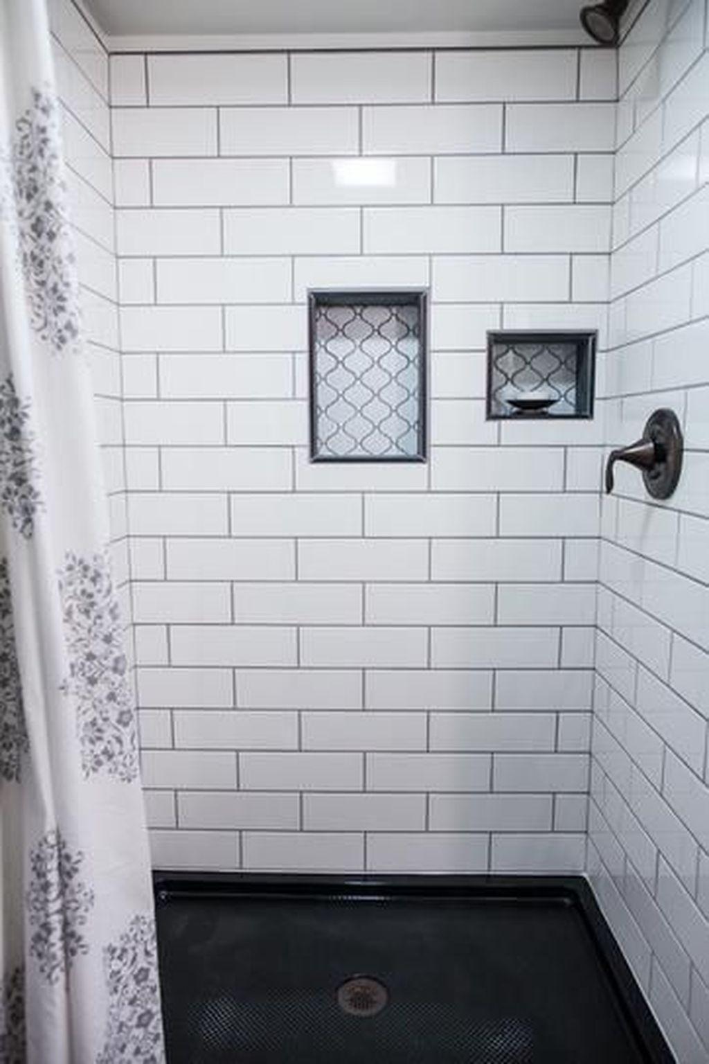 Marvelous Wooden Shower Floor Tiles Designs Ideas For Bathroom Remodel 14