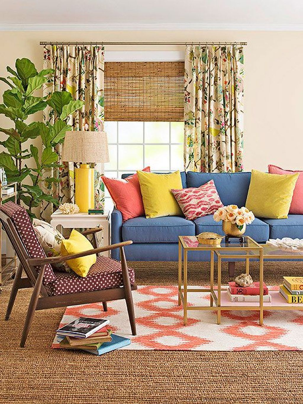 Modern Summer Living Room Color Schemes Ideas For More Comfort And Fresh 09