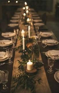 Pretty Winter Table Decoration Ideas For A Romantic Dinner 13