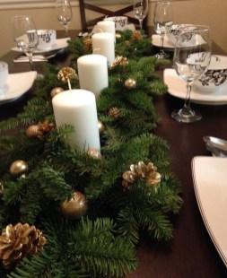 Pretty Winter Table Decoration Ideas For A Romantic Dinner 22