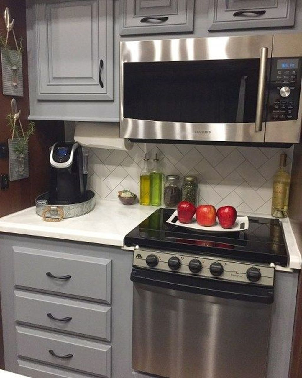Relaxing Rv Kitchen Design Ideas For More Comfortable Cooking During The Holiday 01