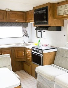 Relaxing Rv Kitchen Design Ideas For More Comfortable Cooking During The Holiday 06