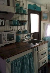 Relaxing Rv Kitchen Design Ideas For More Comfortable Cooking During The Holiday 07
