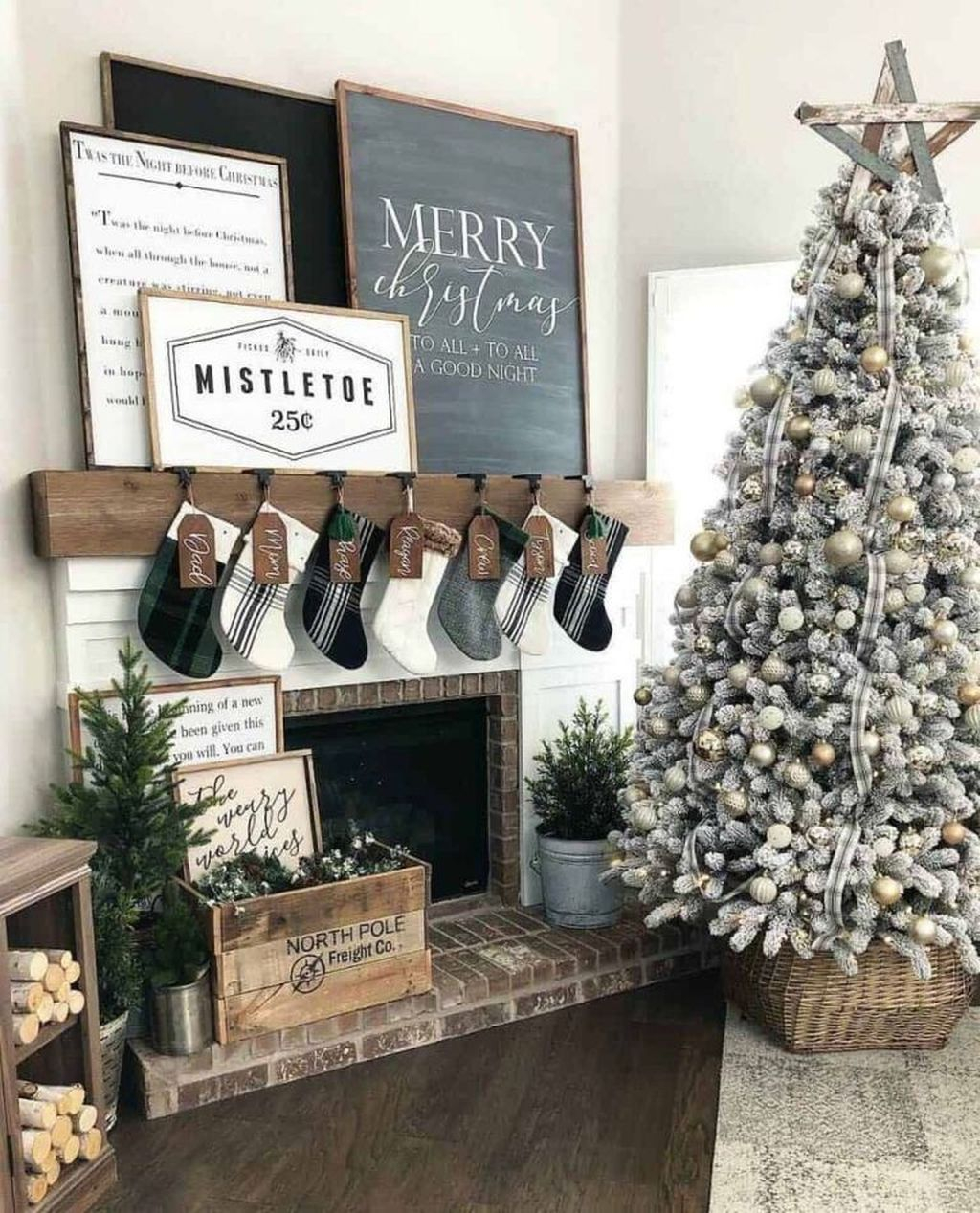 Rustic Winter Decor Ideas For Home To Try Asap 01