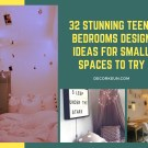 32 Stunning Teens Bedrooms Design Ideas For Small Spaces To Try