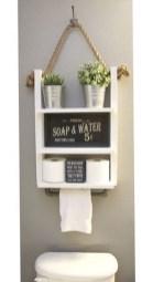 Amazing Bathroom Shelf Ideas With Industrial Farmhouse Towel Bar Tips For Buying It 11