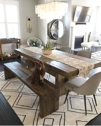 Awesome Small Dining Room Table Decor Ideas To Copy Asap 26