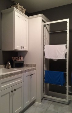 Best Small Functional Laundry Room Decoration Ideas That Looks Cool 04