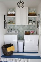 Best Small Functional Laundry Room Decoration Ideas That Looks Cool 17