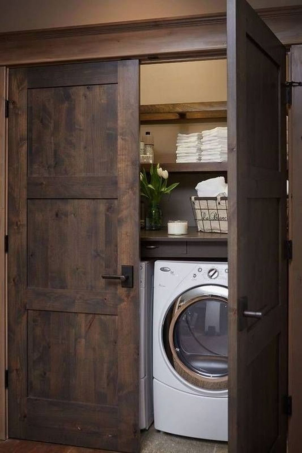 Best Small Functional Laundry Room Decoration Ideas That Looks Cool 36