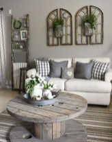 Comfy Farmhouse Living Room Decor Ideas To Copy Asap 04