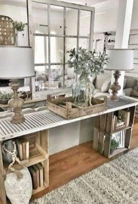 Comfy Farmhouse Living Room Decor Ideas To Copy Asap 17