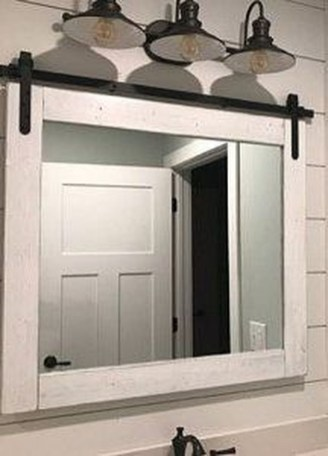 Cool Bathroom Mirror Ideas That You Will Like It 26