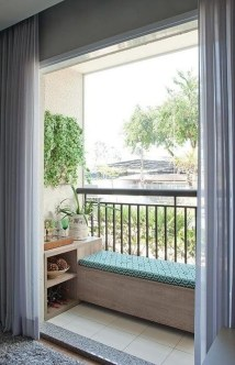 Enchanting Balcony Decoration Ideas For Apartment For A Cleaner Look 03