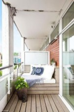 Enchanting Balcony Decoration Ideas For Apartment For A Cleaner Look 30