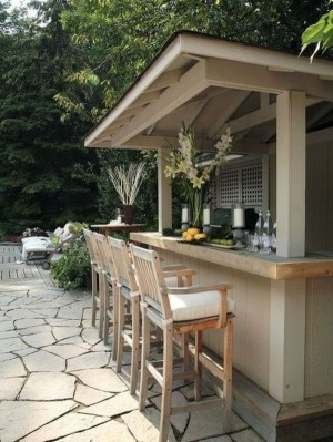 Enjoying Outdoor Bar Design Ideas To Relax Your Family 18