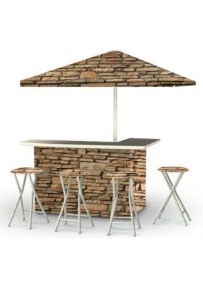 Enjoying Outdoor Bar Design Ideas To Relax Your Family 25