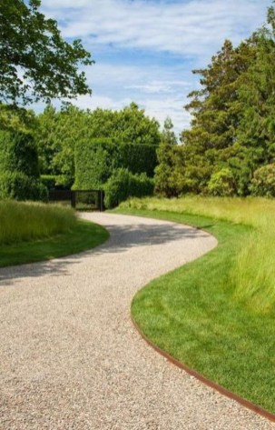 Fabulous Driveway Landscaping Design Ideas For Your Home To Try Asap 35