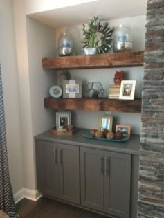Inexpensive Home Cabinet Design Ideas For Cozy Family Room On A Budget 05