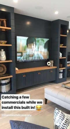 Inexpensive Home Cabinet Design Ideas For Cozy Family Room On A Budget 15
