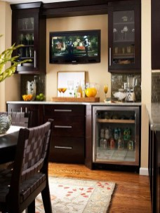 Inexpensive Home Cabinet Design Ideas For Cozy Family Room On A Budget 19