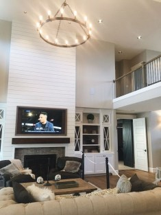 Inexpensive Home Cabinet Design Ideas For Cozy Family Room On A Budget 32