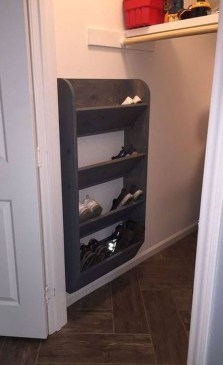 Luxury Antique Shoes Rack Design Ideas To Try Right Now 04