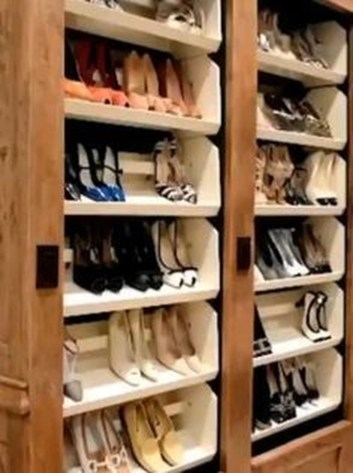 Luxury Antique Shoes Rack Design Ideas To Try Right Now 06