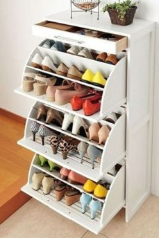 Luxury Antique Shoes Rack Design Ideas To Try Right Now 11