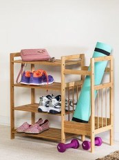 Luxury Antique Shoes Rack Design Ideas To Try Right Now 22