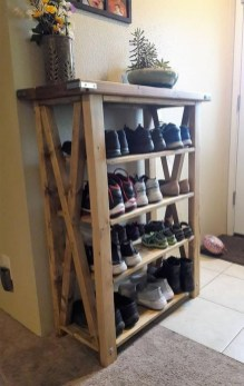 Luxury Antique Shoes Rack Design Ideas To Try Right Now 30