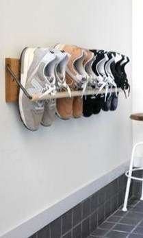 Luxury Antique Shoes Rack Design Ideas To Try Right Now 31