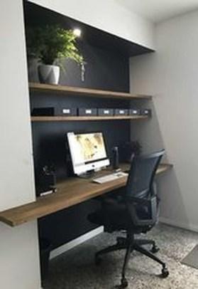 Popular Home Office Cabinet Design Ideas For Easy Organization Storage 09