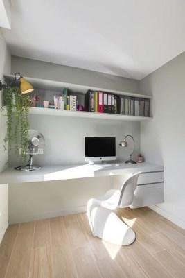 Popular Home Office Cabinet Design Ideas For Easy Organization Storage 15