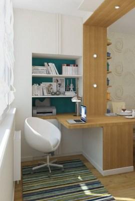Popular Home Office Cabinet Design Ideas For Easy Organization Storage 16