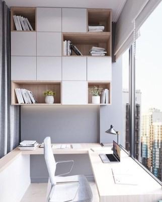 Popular Home Office Cabinet Design Ideas For Easy Organization Storage 17
