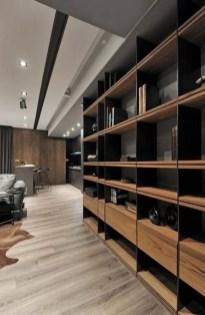 Popular Home Office Cabinet Design Ideas For Easy Organization Storage 20