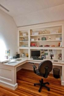 Popular Home Office Cabinet Design Ideas For Easy Organization Storage 32